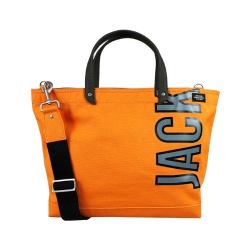 (ジャック スペード) JACK SPADE 2WAY トートバッグ [オレンジ] W9RU0038 800 COAL BAG キャンバス メンズ レディースORANGE ORANGE (並行輸入品)