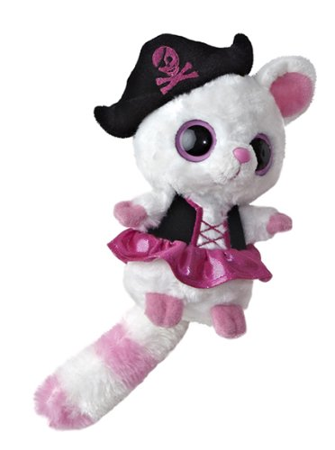 Aurora World YooHoo Pammee Pirate Plush Toy, 5""