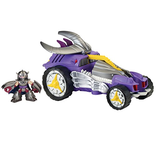 Teenage Mutant Ninja Turtles Pre-Cool Half Shell Heroes Shredder Mobile with Shredder Vehicle and Figure - 1