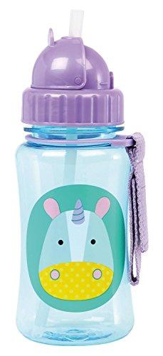 skip-hop-baby-zoo-little-kid-and-toddler-feeding-travel-to-go-flip-top-straw-bottle-12-oz-multi-eure