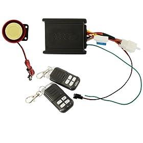 TabStore DBPoweru00ae Motorcycle Bike Anti-theft Security Alarm System Remote Control Engine Start 12V for Suzuki Honda Yamaha Kawasaki Harley Davidson