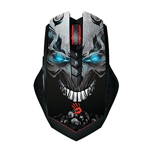 R80-Lightstrike-Fastest-Key-Response-Wireless-Gaming-Mouse-4000DPI-100-4000-CPI-adjustable-Infrared-Micro-Switch-Infrared-Wheel-Metal-XGlide-Armor-Boot-by-Bloody-Gaming