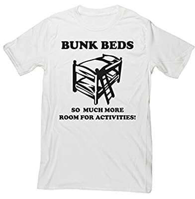 HippoWarehouse Bunkbeds, So Much More Room For Activities! Quote unisex short sleeve t-shirt
