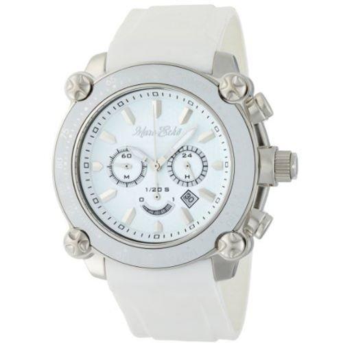 Marc Ecko Men's E18596G1 The DT1 Chronograph White Dial Watch