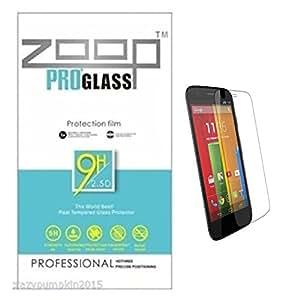 Zoop Premium 2.5D Rounded 9H 2.6mm Anti Burst Tempered Glass for Motorola Moto G2