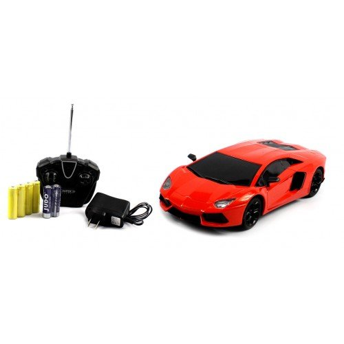 Electric Full Function Diecast Heavy Weight Metal Lamborghini Aventador RTR RC Car (Colors May Vary) Remote Control High Quality RC Car