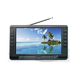 Sylvania SRT902A 9-Inch Dual Tuner Portable LCD TV