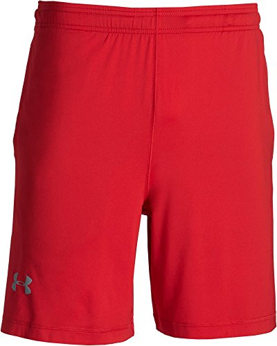 Under Armour, Pantaloni corti Uomo Raid, Rosso (Red), M