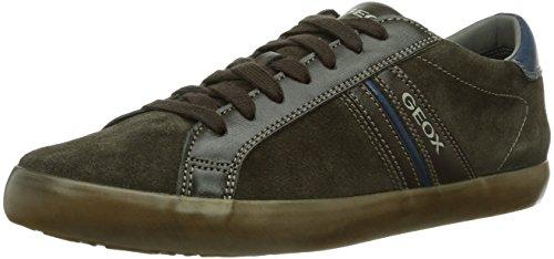 Geox U SMART, Sneaker Uomo, Grigio (Grau (MUD/CHARCOALC6143)), 43