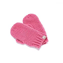 Peppercorn Kids Little Girls' Solid Mittens (Little Kid) - Pink - M/L (3-6 Years)