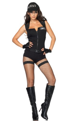 Leg Avenue Women's Swat Hottie Costume