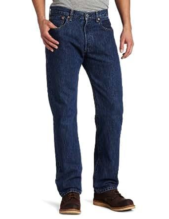 Levi's Men's 501 Trend Core Straight Leg Fade Jean, Dark Stonewash, 28x30