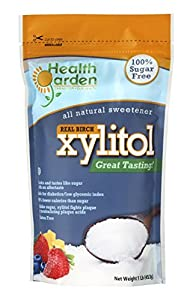 Health Garden Kosher Birch Xylitol 1 Lbs. Product of USA (Not From Corn)