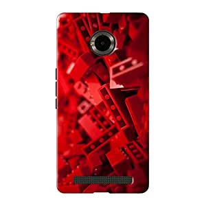 Mobile Back Cover For Micromax Yuphoria (Printed Designer Case)