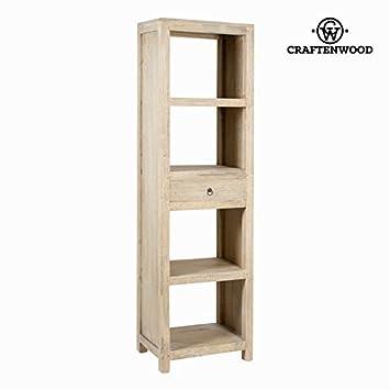Libreria con cassetto - Pure Life Collezione by Craften Wood (1000026483)