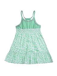Wowmom Baby-Girls' Mint Green Frock