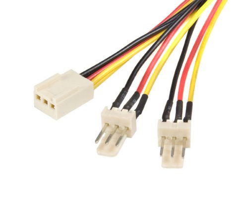 Startech 12 inch TX3 Fan Power Splitter Cable