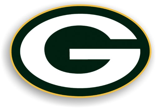 NFL Green Bay Packers 12-Inch Vinyl Logo Magnet by Fremont Die