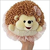 Mini Squishable Tutu Hedgehog - 7 Inch Plush