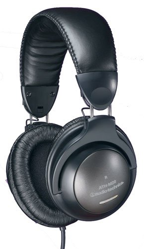 ATH-M20 Closed-back Dynamic Stereo Monitor Headphones