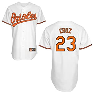 Nelson Cruz Baltimore Orioles Home Replica Jersey by Majestic by Majestic