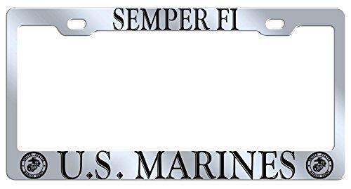 Enchanting Marine License Plate Frame Crest - Frames Ideas ...