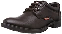 Lee Cooper Mens Brown Leather Shoes - 7 UK