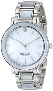 """kate spade new york Women's 1YRU0395 """"Gramercy"""" Stainless Steel and Mother-of-Pearl Bracelet Watch"""