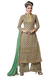Prenea Women's unstitched embroidery work unstitched Salwar Suit