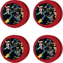 Pirates of the Caribbean Dead Mans Chest Party Yo Yos 4 Pack