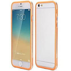 Casotec Backless Bumper Case Cover for Apple iPhone 6 Plus / 6S Plus - Orange