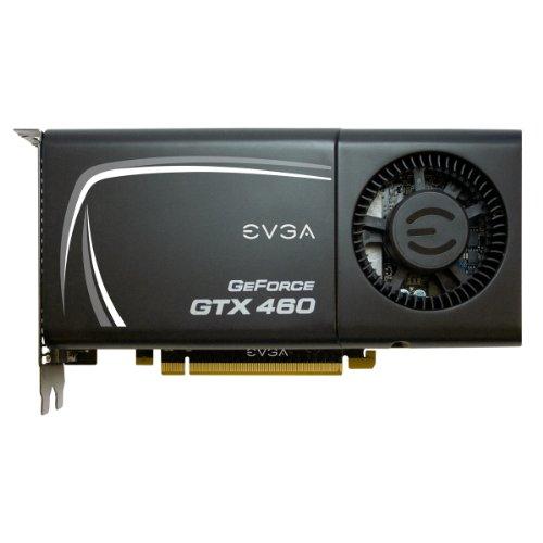 EVGA Nvidia GTX460 FTW 1GB 192-Bit GDDR5 Graphics Card with External Exhaust