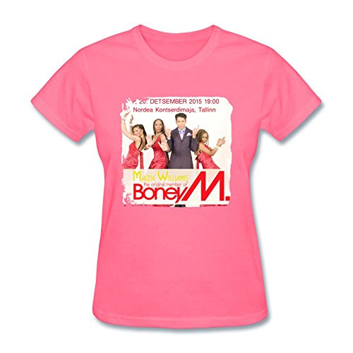 CalWaeag Women's 2016 Concert Boney M Tickets T shirts (Iggy Concert Tickets compare prices)
