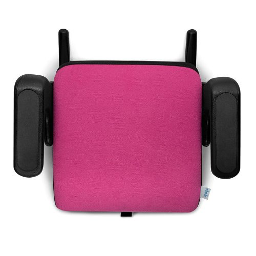 Clek Olli 2011 Backless Booster Car Seat, Raspberry front-57707
