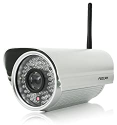 Foscam FI8905W Outdoor Bullet Wireless IP Camera (Grey)