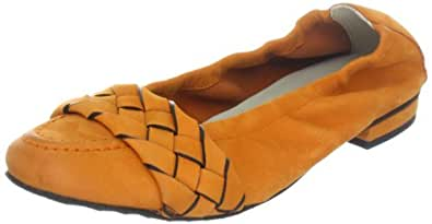 Kennel und Schmenger Schuhmanufaktur Malu 31-10530.499, Damen Ballerinas, Orange (orange), EU 38 (UK 5)