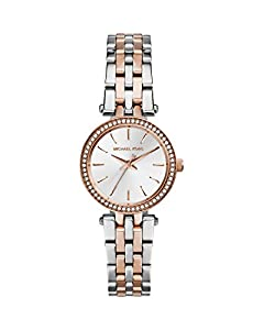 Michael Kors Collection Womens MK3298 - Petite Darci Rosegold/Silver