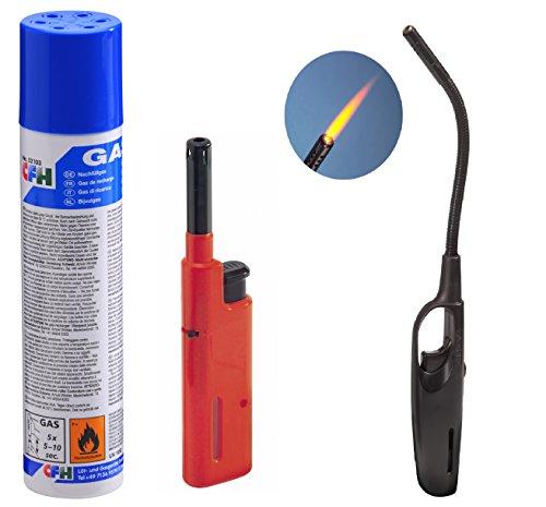 3-er-Set-Nachfllgas-Butan-Gasanznder-Turbo-Gasanznder-Mini-Feuerzeug