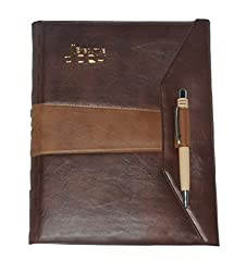 FREE DELIVERY !! EXECUTIVE DIARY 2017 WITH PEN