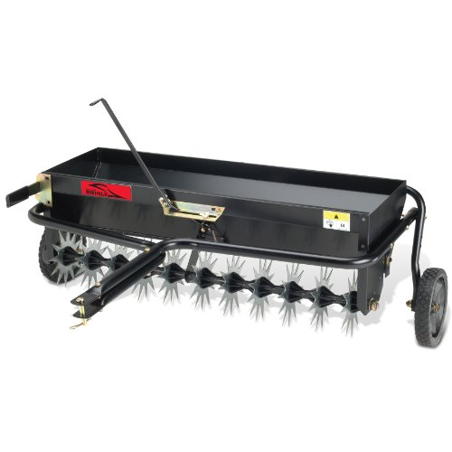 Brinly AS-40BH Tow Behind Combination Aerator Spreader, 40-Inch picture