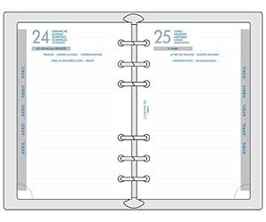 EXACOMPTA Recharge Exatime 17 10,5x17,2 cm Journalier Sept 2015 / Sept 2016