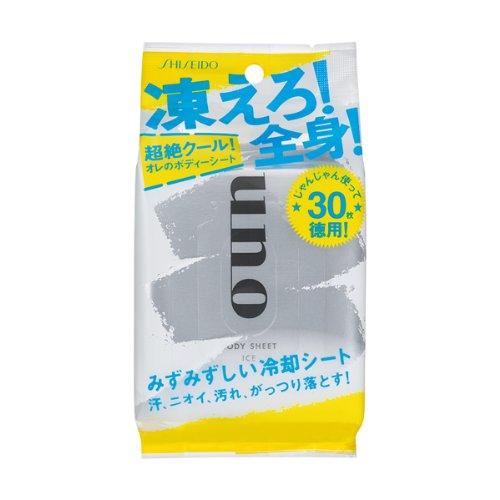 ウーノ さっぱりボディーシート(アイス)L 30枚