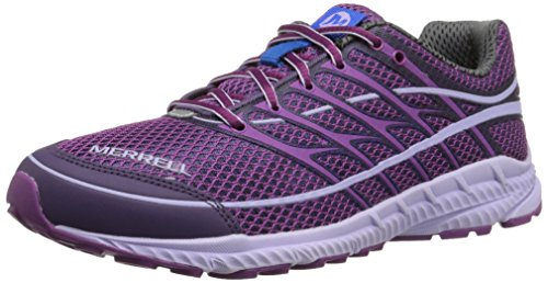 Merrell Women's Mix Master Move Glide 2 Trail Running Shoe, Purple/Racer Blue, 6 M US (Mix Master Move 2 compare prices)