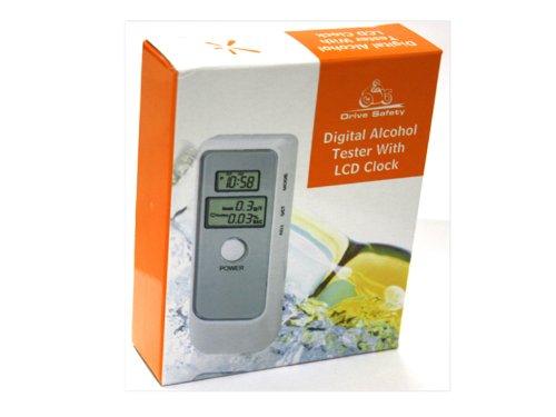 Neutre Alcotest numérique LCD avec horloge (6389)