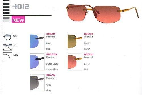 Revo 4012 Sunglasses(Color-Code=806/9Y - Black Frame,Blue Polarized Lens,Frame Size=56-16-130)