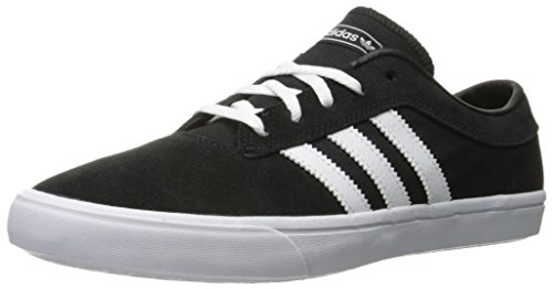 Adidas Performance Men's Sellwood Fashion Sneaker, Black/White/Black, 11 M US