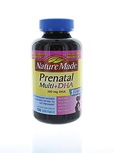 Nature Made Prenatal Multi + Dha, 200mg, 150 Softgels