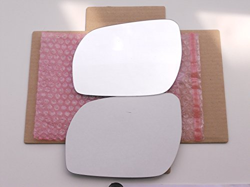 New Replacement Mirror Glass with FULL SIZE ADHESIVE for 03-07 Nissan Murano Driver Side View Left LH (Left Glass Nissan Murano compare prices)