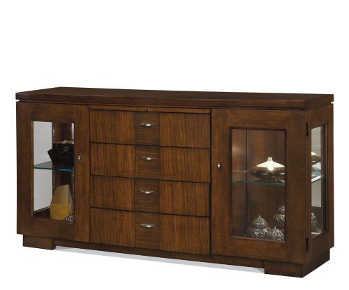 Picture of A.R.T. Furniture Sideboard - CLOSEOUT - Warm Rum Finish (60251-1315) (60251-1315) (Sideboards)