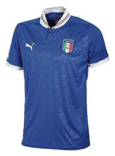 Puma, Maglia da calcio Italia Home Replica, Blu (team power blue), XL